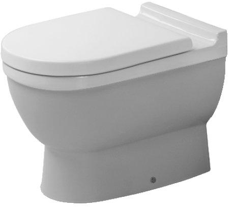 Унитаз Duravit Starck 3 0124090000 приставной без крышки-сиденья фото
