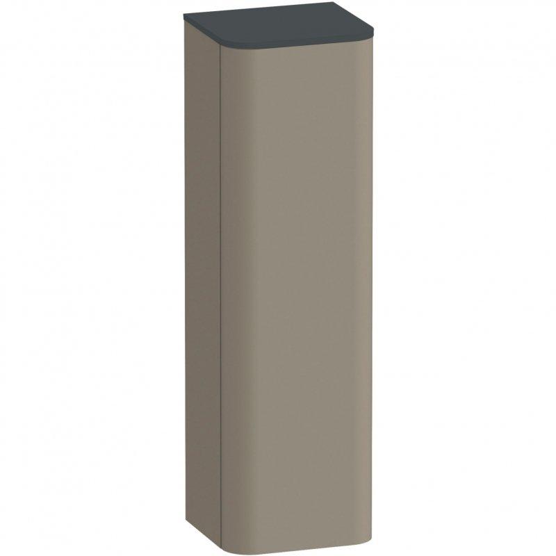 Шкаф пенал Duravit Happy D 2 Plus 40 R HP1261R9292 подвесной Stone Grey Satin Matt фото
