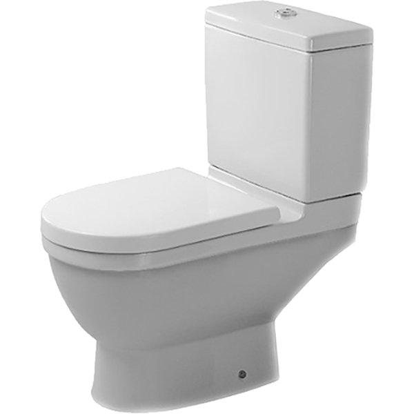 Унитаз напольный Duravit Strack 3 0126090000 без сиденья фото